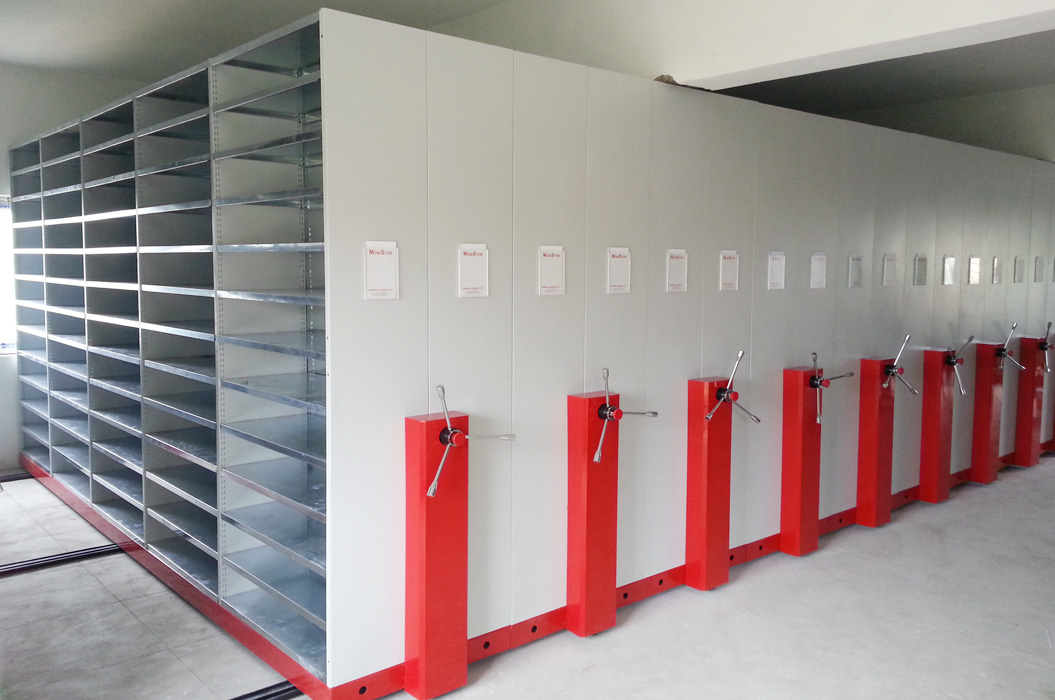 Movable Racks Material Storage System